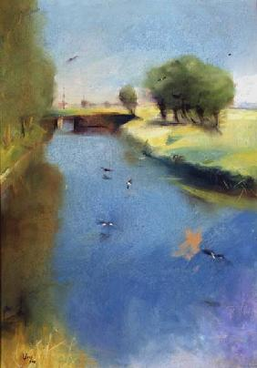Ury, Lesser : Canal