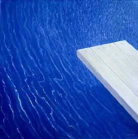 Diving Board, 2004 (acrylic)
