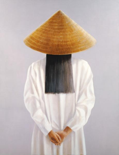 Vietnam, back view (oil on canvas)