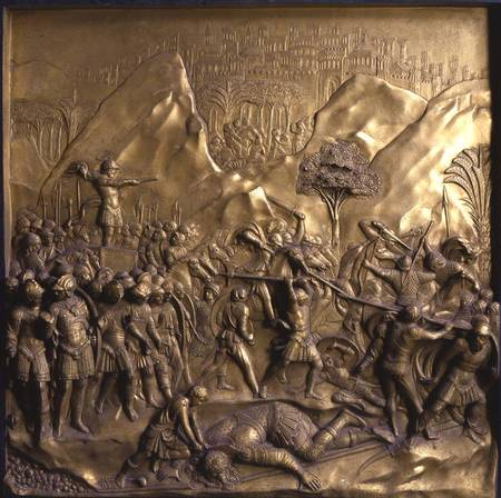 shadow_u & The Story of David and Goliath one of t - Lorenzo Ghiberti as art ...