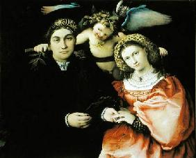 Signor Marsilio Cassotti and his Wife, Faustina