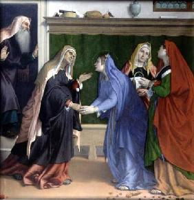 Lotto, Lorenzo : The Visitation