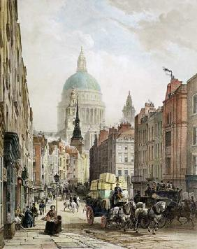 St. Paul's from Fleet Street