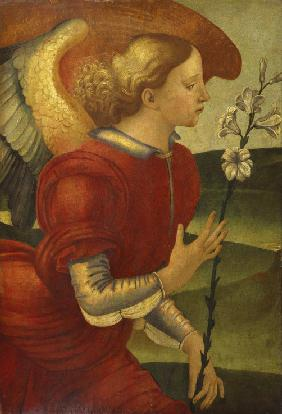 Signorelli, Luca : The Archangel Gabriel