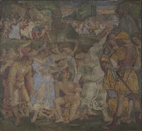 Signorelli, Luca : The Triumph of Chastity: L...