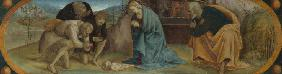 Signorelli, Luca : The Adoration of the Sheph...
