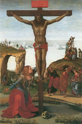 Signorelli, Luca : The Crucifixion with Mary ...
