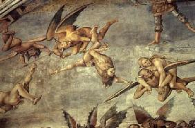 Signorelli, Luca : Devils, from the Last Judg...
