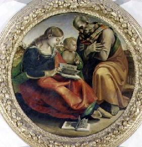 Signorelli, Luca : The Holy Family