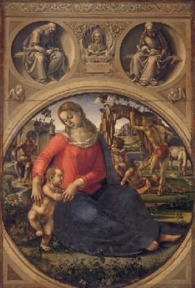 Signorelli, Luca : Madonna and Child
