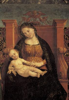 Signorelli, Luca : Madonna & Child
