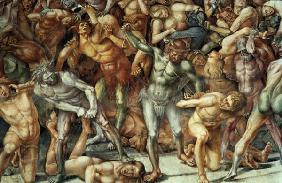 Signorelli, Luca : Hell, from the Last Judgem...