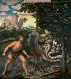 Hercules and the Lernaean Hydra (From The Labours of Hercules)