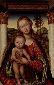 Cranach the Elder, Lucas : The virgin with the child ...