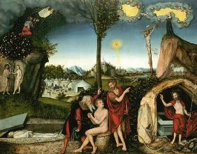 Cranach the Elder, Lucas : Fall of Man and release of...