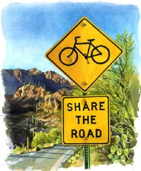 Share the Road, Gates Pass