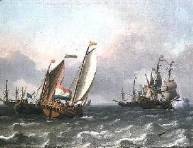 Dutch Shipping in a Choppy Sea