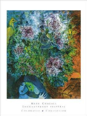 Chagall, Marc : Enchantement Vesperal  - (...