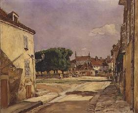 A Street in Avallon