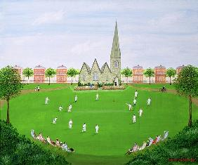 Cricket on Blackheath, 1993