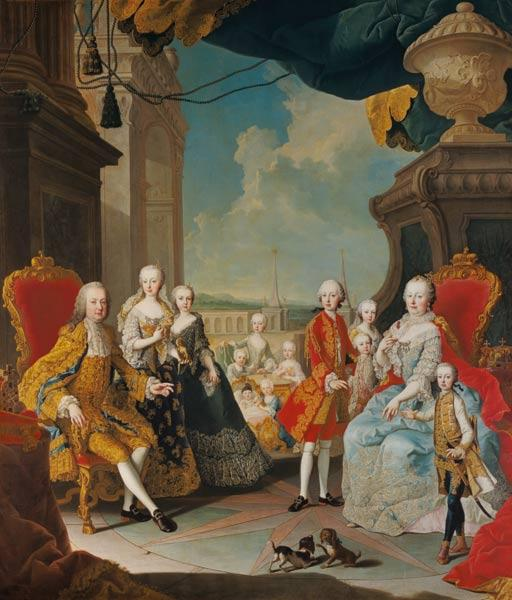 Mytens, Martin : Maria Theresia in the circ...