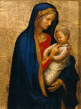 Madonna Casini (tempera & gold leaf on panel)
