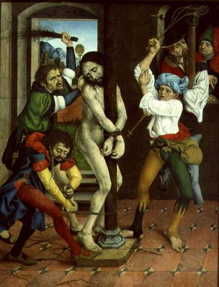 The Flagellation Of Christ Side Panel O Master Of The