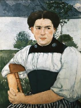 Portrait of a young inhabitant of Berne