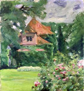 Liebermann, Max : Old house in Hamburg