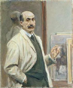 Self Portrait, 1910 (oil on canvas)