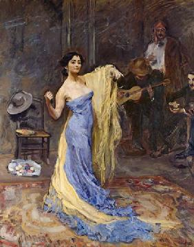 Portrait of the dancer Marietta di Rigardo 1904
