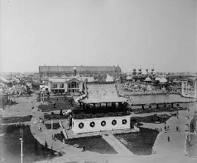 The All-Russian Exhibition in Nizhny Novgorod. General View