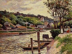Luce, Maximilien : Mooring in Guinguette at t...