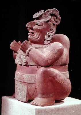 Anthropomorphic censer, from Guatemala, Classic Period