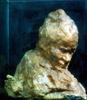 The Caretaker by Medardo Rosso (1858-1928)