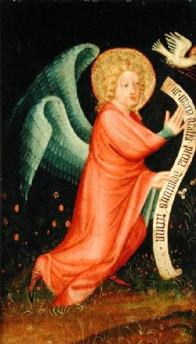 The Angel of the Annunciation, from The Harvester Altar