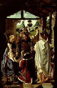 The adoration of the St. three kings