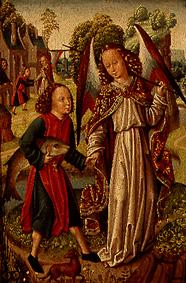 Meister (Niederl�ndischer) : Tobias and the angel