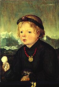 Portrait of a child from the family Thenn