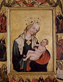Meister (Tschechischer) : The Madonna with the Jesus...