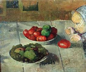 Still Life with Mimie, Daughter of Marie Poupee du Pouldu