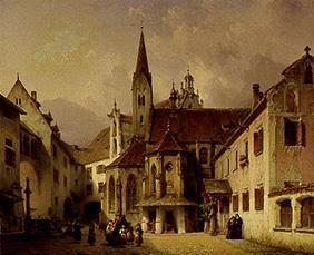 Neher, Michael : Cloister court to Kaufbeur...