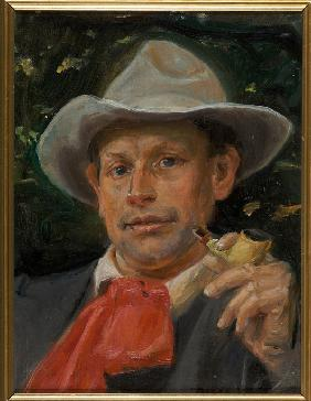 Ancher, Michael Peter : Portrait of Martin Anderse...
