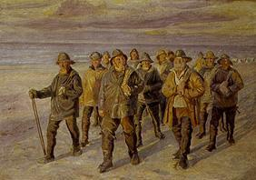 Ancher, Michael Peter : Return of the fishermen