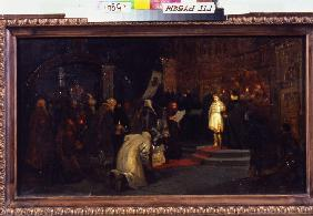 The Election of Michail Romanov to the Tsar on 14 March 1613