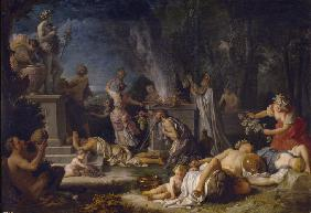 The Offering to Bacchus