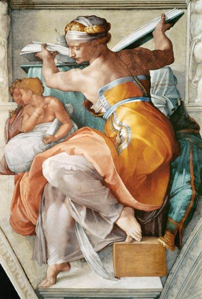 Libyan Sibyl (detail from the Sistine Chapel)