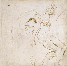 Figure Study, c.1511 (pen & ink on paper)