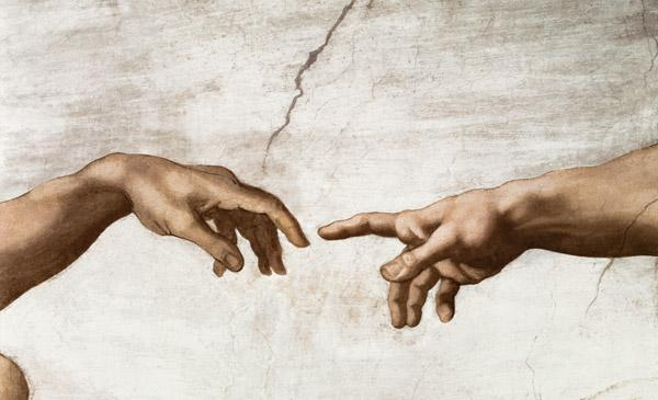 The Creation of Adam (detail) 1510