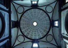 View of the cupola in the New Sacristy, 1520-24 and 1530-33 (photo)